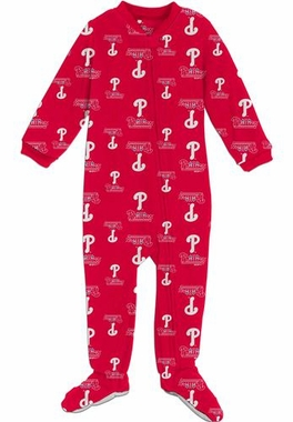 Philadelphia Phillies Infant Footed Coverall Sleeper