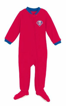 Philadelphia Phillies Infant Footed Sleeper Pajamas