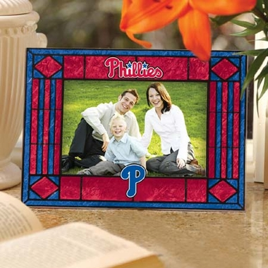 Philadelphia Phillies Landscape Art Glass Picture Frame