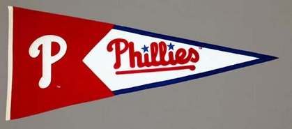 Philadelphia Phillies Large Wool Pennant