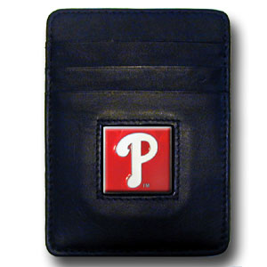 Philadelphia Phillies Leather Money Clip (F)