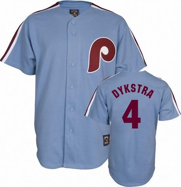 Philadelphia Phillies Lenny Dykstra Replica Throwback Jersey