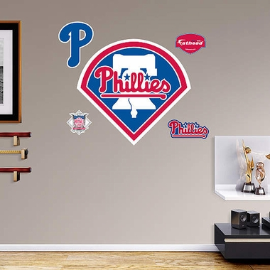Philadelphia Phillies Logo Fathead Wall Graphic