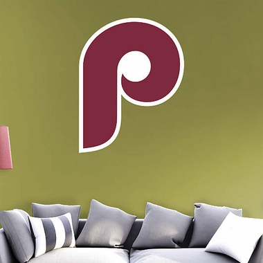 Philadelphia Phillies Logo (Throwback) Fathead Wall Graphic