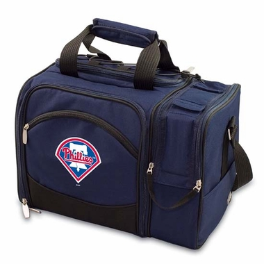Philadelphia Phillies Malibu Picnic Cooler (Navy)