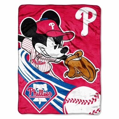 Philadelphia Phillies Microfiber Lightweight Blanket