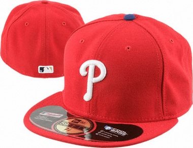 Philadelphia Phillies New Era 59Fifty Authentic Exact Fit Baseball Cap