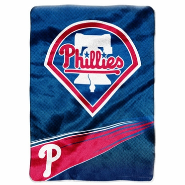 Philadelphia Phillies Oversize Plush Blanket