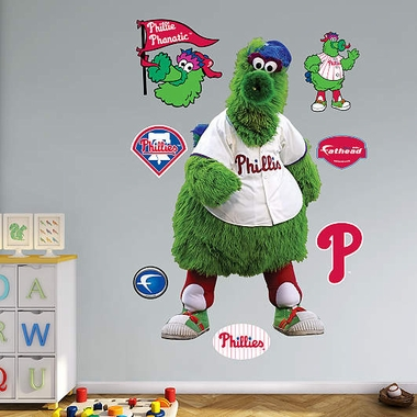 Philadelphia Phillies Phillie Phanatic Fathead Wall Graphic