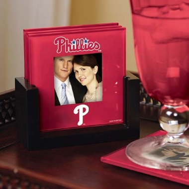 Philadelphia Phillies Photo Coaster Set