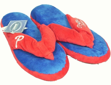 Philadelphia Phillies Plush Thong Slippers