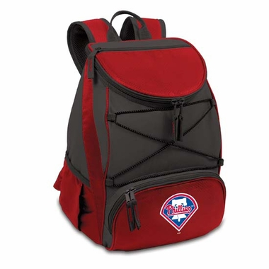 Philadelphia Phillies PTX Backpack Cooler (Red)