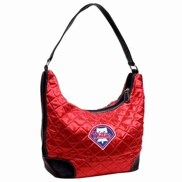 Philadelphia Phillies Quilted Hobo Purse
