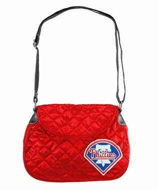 Philadelphia Phillies Quilted Saddlebag