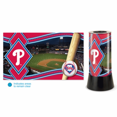 Philadelphia Phillies Rotating Lamp