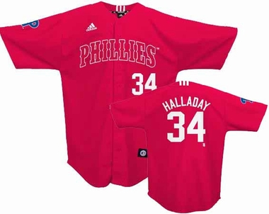 Philadelphia Phillies Roy Halladay Adidas Youth Player Jersey