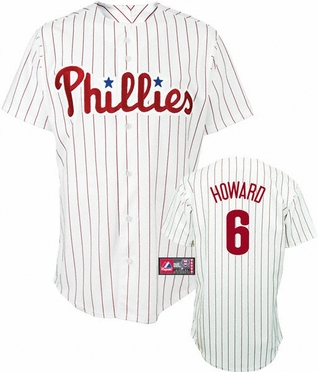 Philadelphia Phillies Ryan Howard Replica Player Jersey