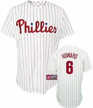 Philadelphia Phillies Ryan Howard YOUTH Replica Player Jersey
