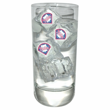 Philadelphia Phillies Set of 4 Light Up Ice Cubes