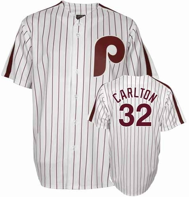 Philadelphia Phillies Steve Carlton Replica Throwback Jersey