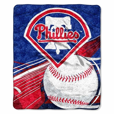 Philadelphia Phillies Super-Soft Sherpa Blanket