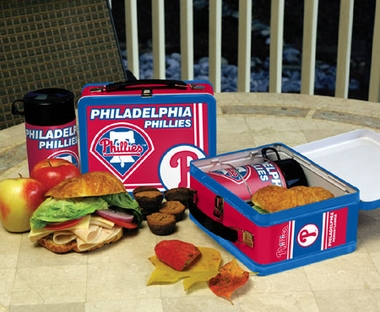 Philadelphia Phillies Tin Lunch Box