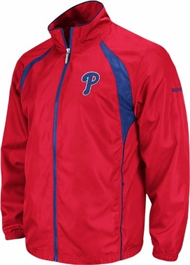 Philadelphia Phillies Trainer Full Zip Lightweight Jacket