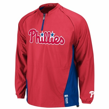 Philadelphia Phillies Triple Peak Convertible Cool Base Gamer Jacket