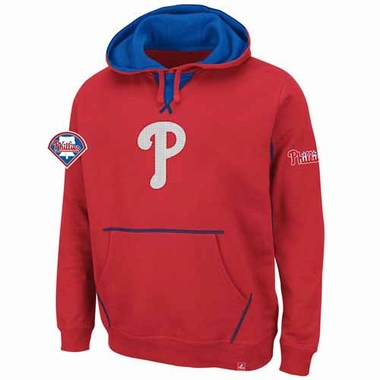 Philadelphia Phillies True Leader Hooded Sweatshirt - Red