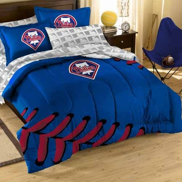 Philadelphia Phillies Twin Comforter and Shams Set