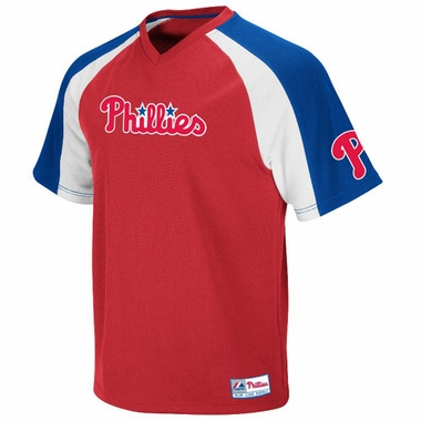 Philadelphia Phillies V-Neck Crusader Jersey (Team Color)