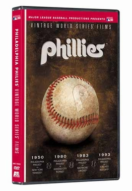 Philadelphia Phillies Vintage World Series Films DVD