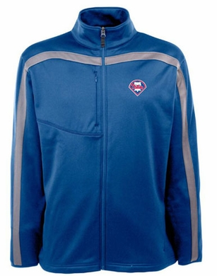 Philadelphia Phillies Mens Viper Full Zip Performance Jacket (Team Color: Royal)