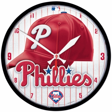 Philadelphia Phillies Wall Clock