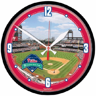 Philadelphia Phillies Wall Clock (Stadium)