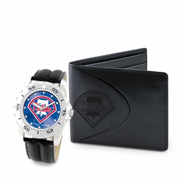 Philadelphia Phillies Watch and Wallet Gift Set