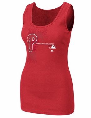 Philadelphia Phillies Womens AC Change Up Tank Top