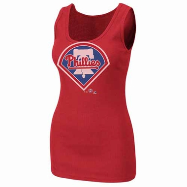 Philadelphia Phillies Womens Must Win Tank Top Shirt - Red