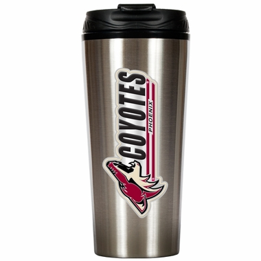 Arizona Coyotes 16 oz. Thermo Travel Tumbler