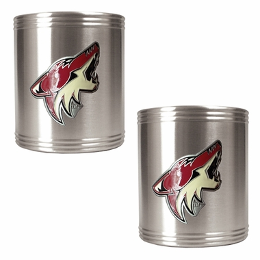 Arizona Coyotes 2 Can Holder Set