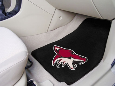 Arizona Coyotes 2 Piece Car Mats