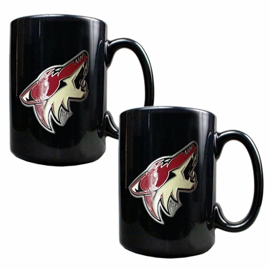 Arizona Coyotes 2 Piece Coffee Mug Set