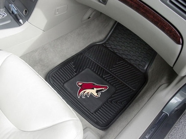 Arizona Coyotes 2 Piece Heavy Duty Vinyl Car Mats