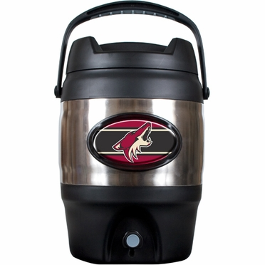 Arizona Coyotes 3 Gallon Stainless Steel Jug