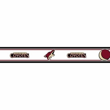 Arizona Coyotes 5.5 Inch (Height) Wallpaper Border