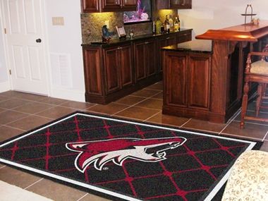 Arizona Coyotes 5 Foot x 8 Foot Rug