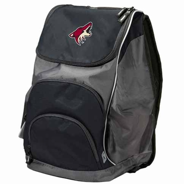 Arizona Coyotes Action Backpack (Color: Black)