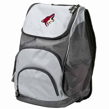 Arizona Coyotes Action Backpack (Color: Grey)