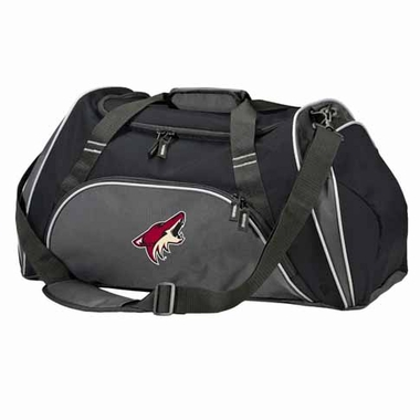 Arizona Coyotes Action Duffle (Color: Black)