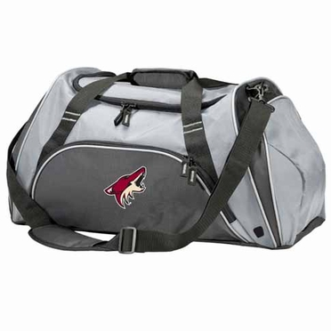 Arizona Coyotes Action Duffle (Color: Grey)
